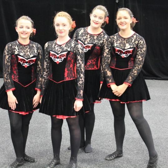 Danijela, Annie, Gen, Frances ADELAIDE 2017